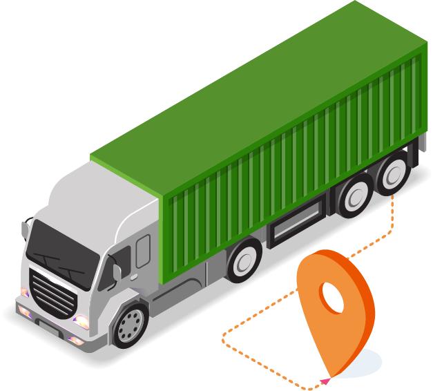 Camion logistique ERDA